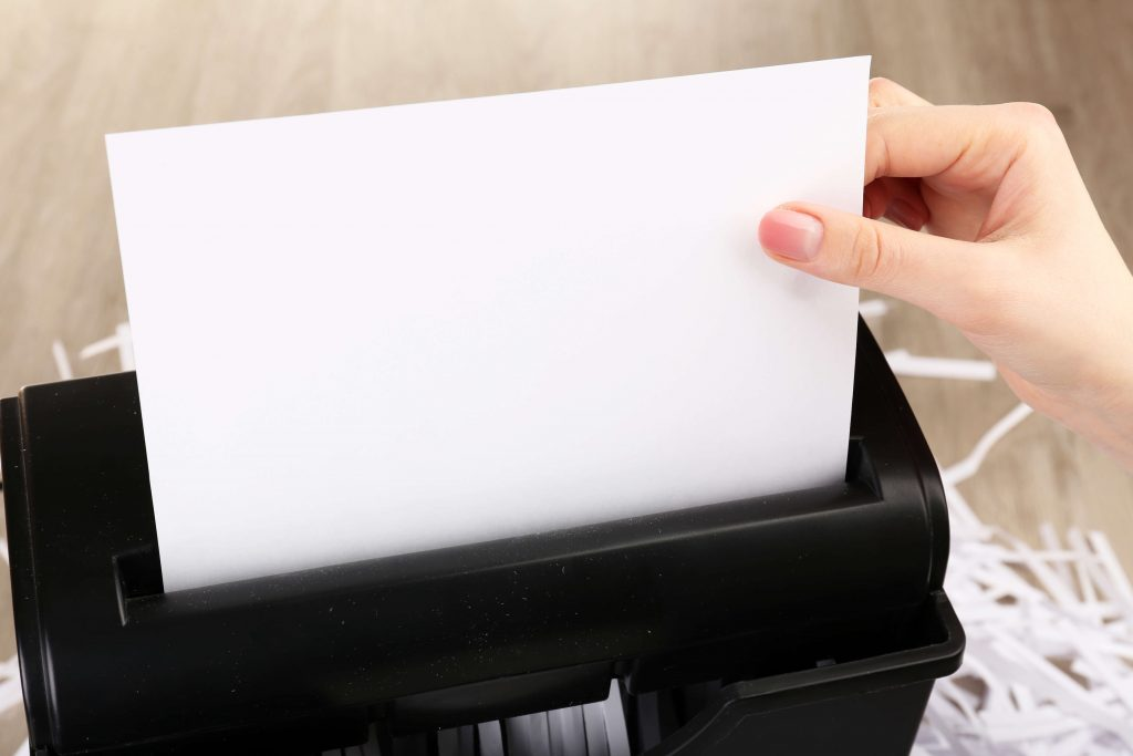 One-Time Shredding Process - Dunlap Government Solutions